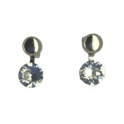 Boucles d'oreilles - Strass simple Articles de Paris