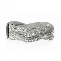 Bracelet - Tresse strass Articles de Paris