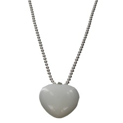 Collier Argent - Amour - Articles de Paris