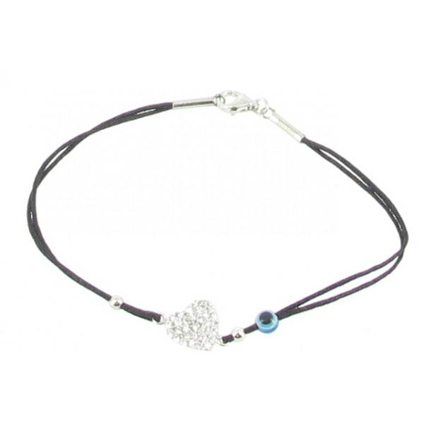 Bracelet Argent coeur - Articles de Paris