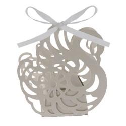Boites cadeaux mariage Cygne blanc