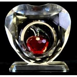 Pomme de cristal luxe