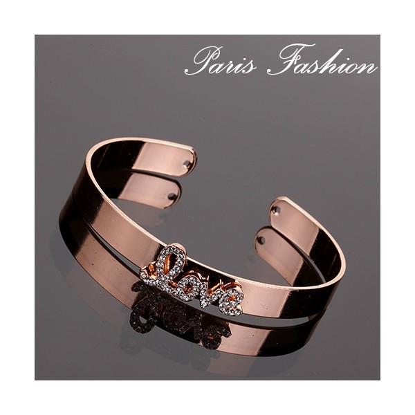 Bracelet LOVE strass
