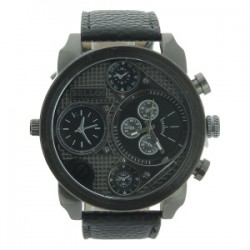 Montre Bellos- Style chronographe - grand boitier