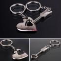Porte-clefs pour couple clé de mon coeur