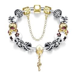 Toutencoeur® France Le bracelet charm, cristal autrichien