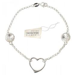Toutencoeur® France Le bracelet Coeur cristal Swarovski®