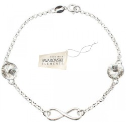 Toutencoeur® France Le bracelet Infiniti cristal Swarovski®