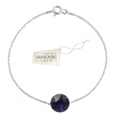 Toutencoeur® France Le bracelet Space purple cristal Swarovski®