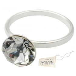 Toutencoeur® France l'anneau bague clear cristal Swarovski®
