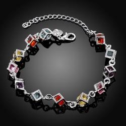 Toutencoeur® France Le bracelet astres, pierres taillées couleurs