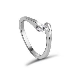 Toutencoeur® France anneau bague réglable cristal zirconium