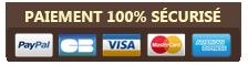 paiement 100% securisé